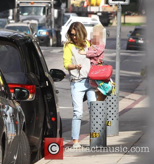 Rebecca Gayheart and Billie Beatrice Dane 8