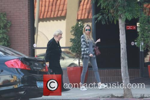 Miley Cyrus' mother and grandmother out shopping together...