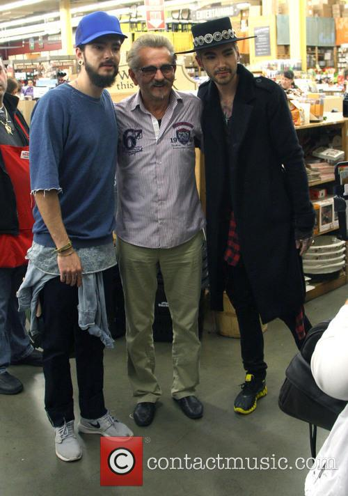 Tokio Hotel band members  at The Grove