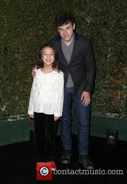 Aubrey Anderson-emmons and Nolan Gould 8