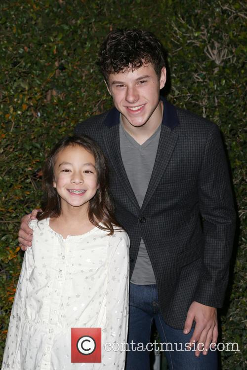 Aubrey Anderson-emmons and Nolan Gould 9