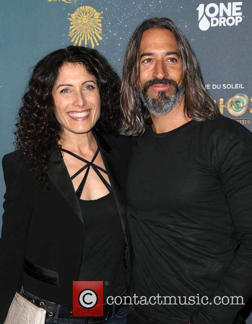 Lisa Edelstein and Robert Russell 9