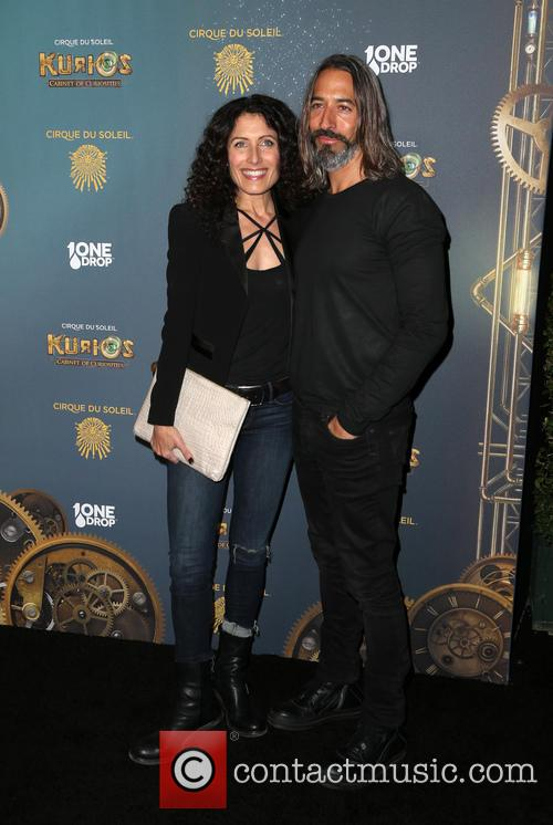 Lisa Edelstein and Robert Russell 10