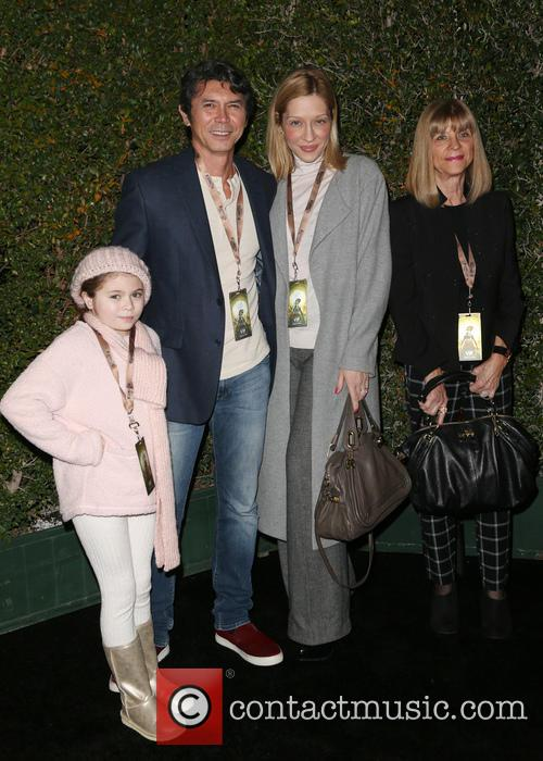 Lou Diamond Phillips, Yvonne Boismier Phillips and Indigo Sanara 2