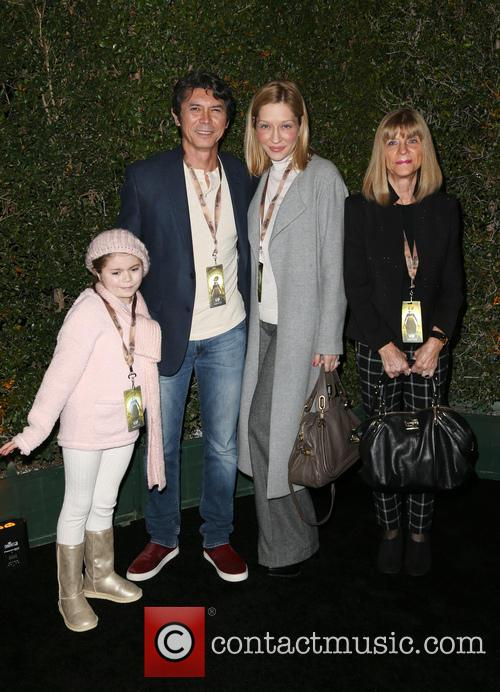 Lou Diamond Phillips, Yvonne Boismier Phillips and Indigo Sanara 3