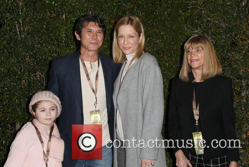 Lou Diamond Phillips, Yvonne Boismier Phillips and Indigo Sanara 4
