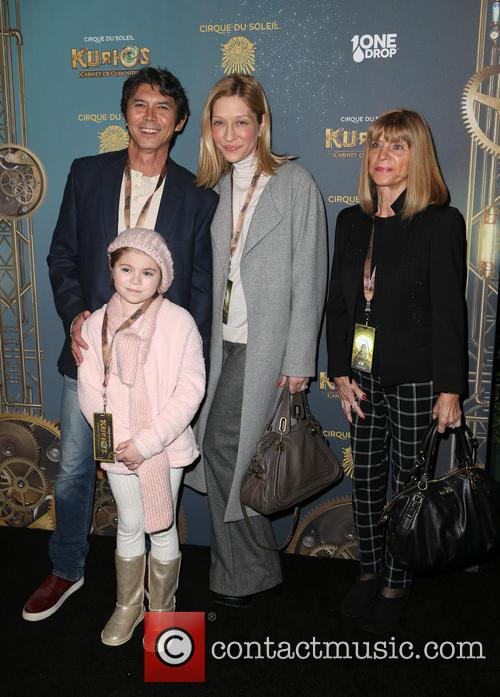 Lou Diamond Phillips, Yvonne Boismier Phillips and Indigo Sanara 5