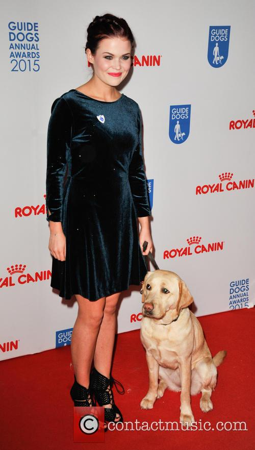Lindsay Russell and Iggy The Blue Peter Dog 5
