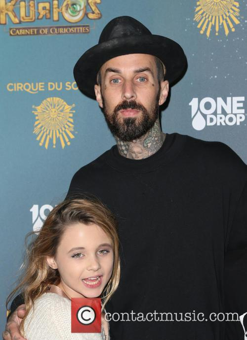 Travis Barker and Landon Asher Barker 10