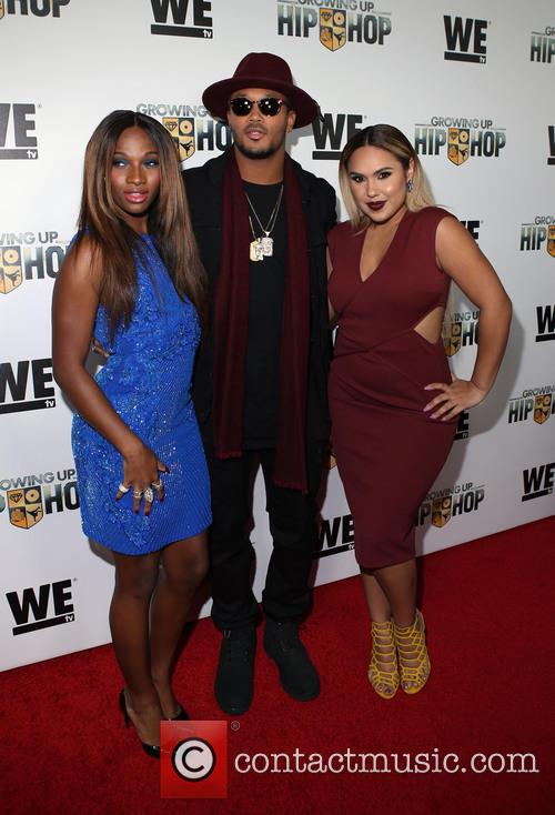 Egypt Criss, Romeo Miller and Kristinia Debarge 3