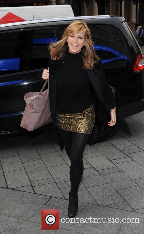 Kate Garraway arrives at Capital Radio