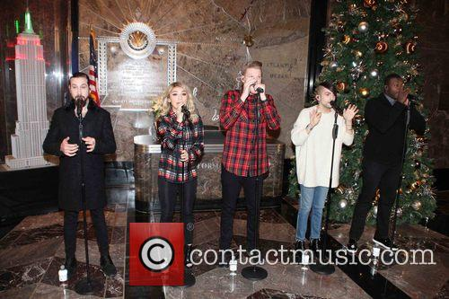 Pentatonix, Avi Kaplan, Scott Hoying, Kristie Maldonado, Mitch Garssi and Kevin Olusola 1