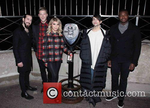 Pentatonix, Avi Kaplan, Scott Hoying, Kristie Maldonado, Mitch Garssi and Kevin Olusola 11