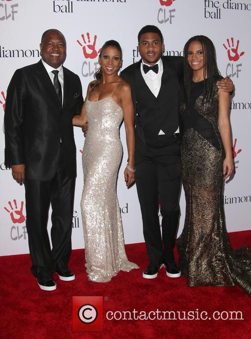 Rodney Peete, Holly Robinson Peete and Ryan Elizabeth Peete 4