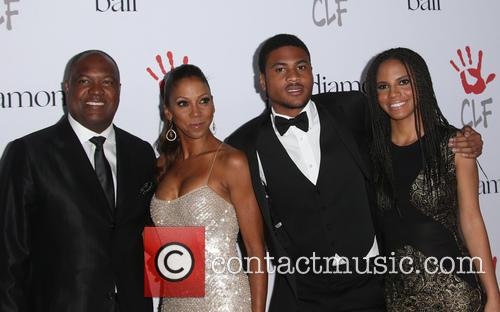 Rodney Peete, Holly Robinson Peete and Ryan Elizabeth Peete 6