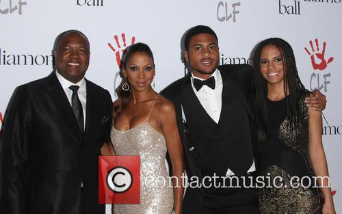 Rodney Peete, Holly Robinson Peete and Ryan Elizabeth Peete 7