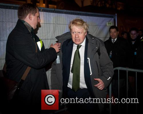 Boris Johnson attends Chanukah (Hanukkah) 2015 celebrations in...