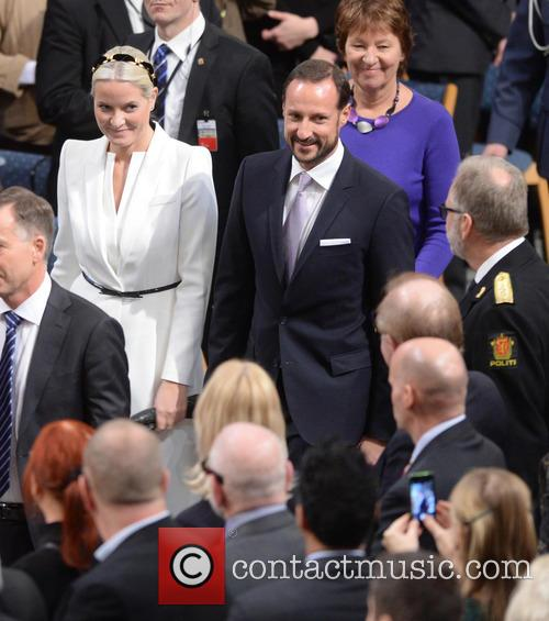 Norwegian Crown Princess Mette Marit and Crown Prince Haakon 2