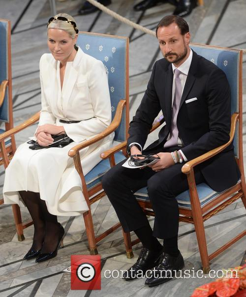 Norwegian Crown Princess Mette Marit and Crown Prince Haakon 7