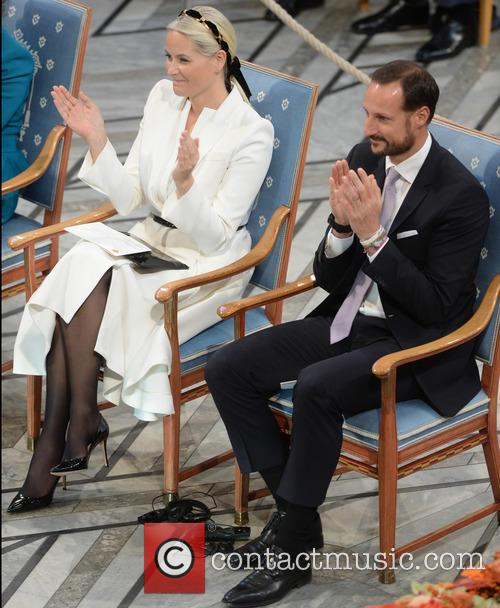 Norwegian Crown Princess Mette Marit and Crown Prince Haakon 8