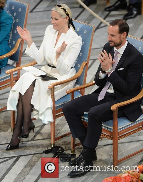 Norwegian Crown Princess Mette Marit and Crown Prince Haakon 9