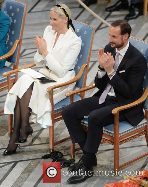 Norwegian Crown Princess Mette Marit and Crown Prince Haakon 10
