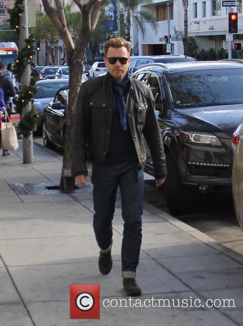 Ewan McGregor out and about in Beverly Hills