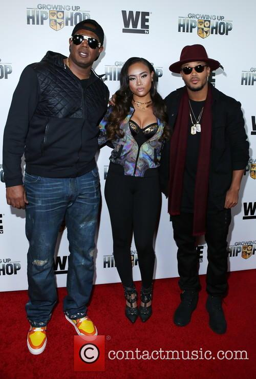Master P, Cymphonique Miller and Romeo Miller 1