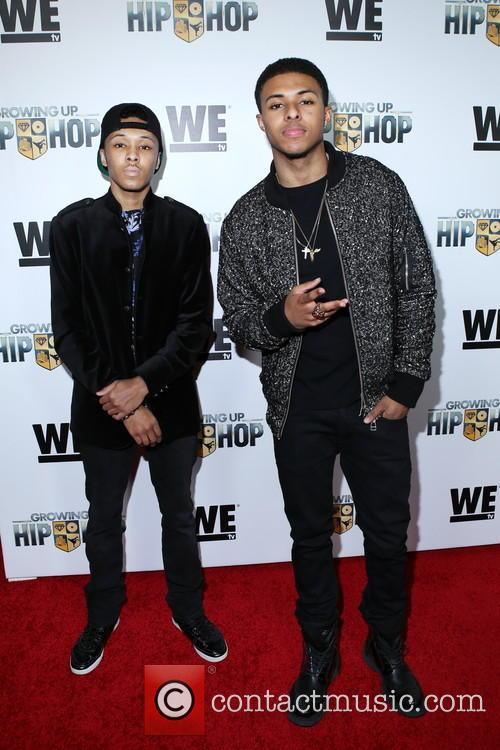 Rusty Simmons and Diggy Simmons