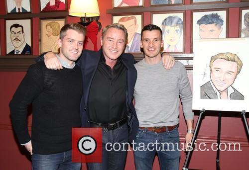 James Keegan, Michael Flatley and Morgan Comer 1