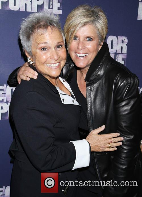 Kathy Travis and Suze Orman 1