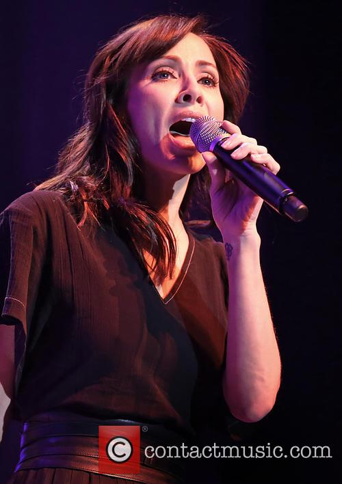 Natalie Imbruglia performs at the Echo Arena Liverpool