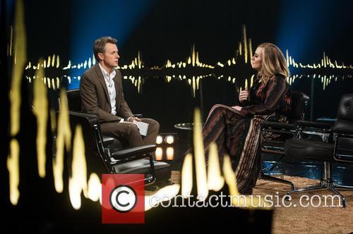 Adele Adkins and Fredrik Skavlan 3