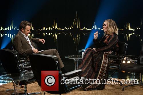 Adele Adkins and Fredrik Skavlan 5