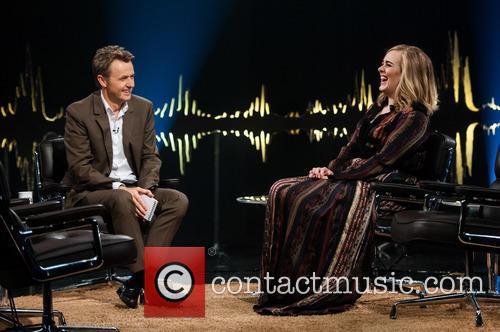 Adele Adkins and Fredrik Skavlan 6