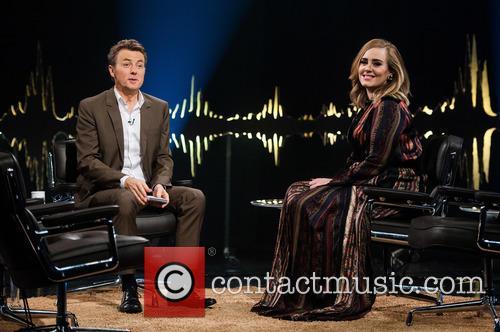 Adele Adkins and Fredrik Skavlan 7