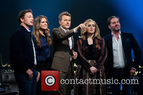 Princess Madeleine Of Sweden, Chris O'neill, Jamie Oliver, Fredrik Skavlan and Adele Adkins 2