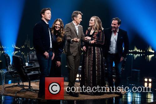 Princess Madeleine Of Sweden, Chris O'neill, Jamie Oliver, Fredrik Skavlan and Adele Adkins 3