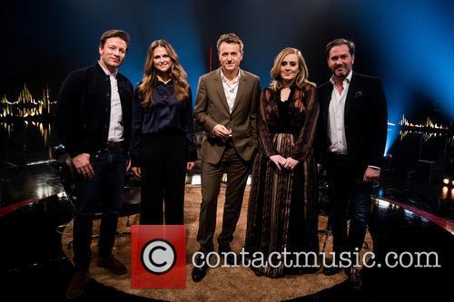 Jamie Oliver, Princess Madeleine Of Sweden, Fredrik Skavlan, Adele Adkins and Chris O'neill 4
