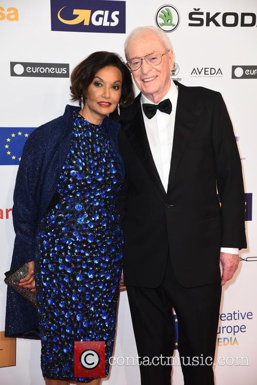 Shakira Caine and Sir Michael Caine 9