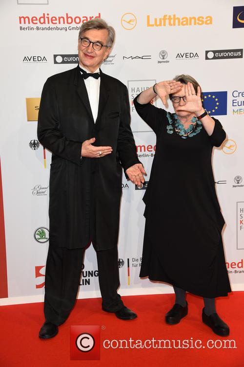 Wim Wenders and Agnieszka Holland 3