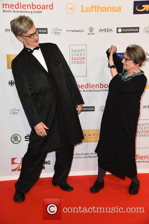 Wim Wenders and Agnieszka Holland 4