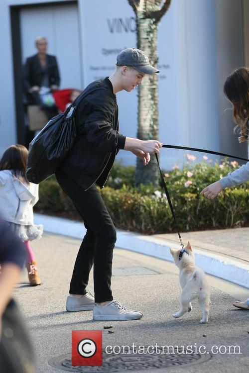 Aidan Alexander out shopping at The Grove with...