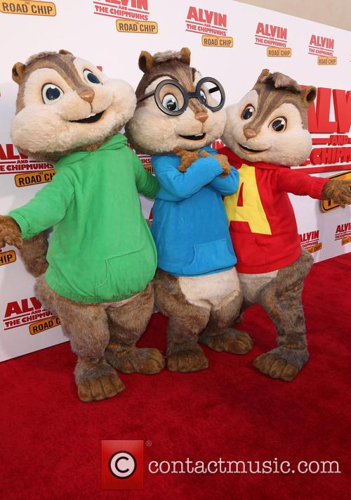 'Alvin and the Chipmunks: The Road Chip' premiere...