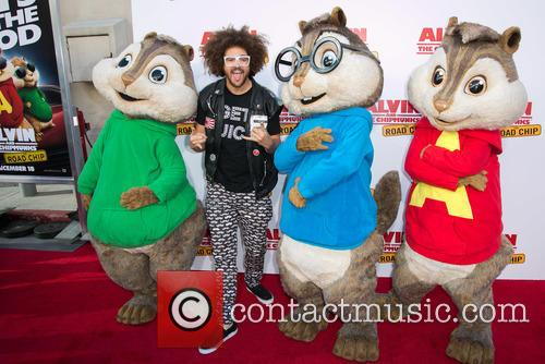 Redfoo, Alvin and The Chipmunks 3