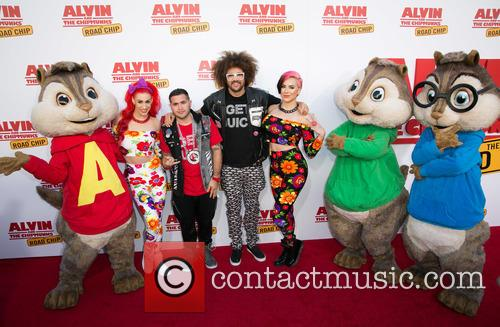 Redfoo, Alvin, The Chipmunks and Guests 5