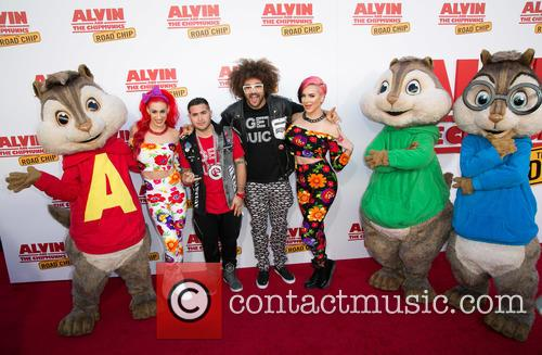 Redfoo, Alvin, The Chipmunks and Guests 6