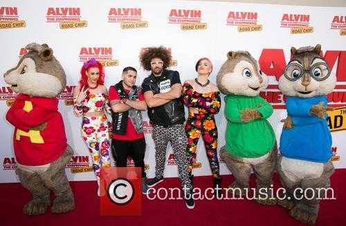 Redfoo, Alvin, The Chipmunks and Guests 7