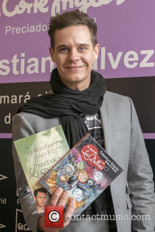 Leonardo Da Vinci and Christian Galvez 2