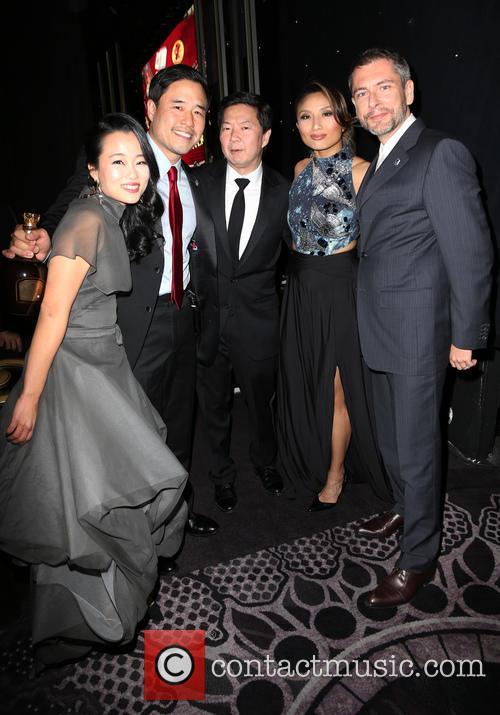 Diana Bang, Randall Park, Ken Jeong, Jeannie Mai and Laurent Cutier 1